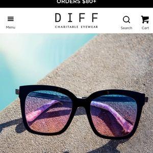 Diff sunglasses, Bella Taco Bell edition